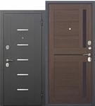 Входная дверь Гарда 7.5 см муар Шоколад Царга