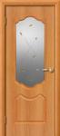 Дверь пвх Анастасия остекленная миланский орех
