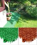Пластиковое модульное покрытие для дома и дачи