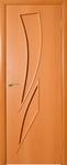 Дверь ламинированная Стрелиция миланский орех глухая