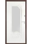 Металлическая дверь Элит зеркало